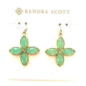 Kendra Scott four stone drop earrings